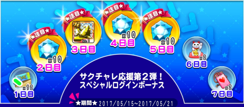 サクチャレ応援第2弾!