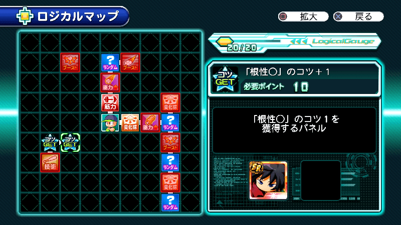 サクスペ冨岡義勇のロジカルマップ
